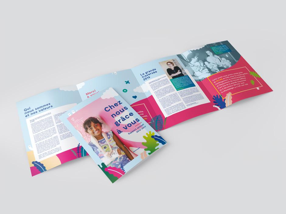 Rapport annuel de la Fondation Sainte-Justine